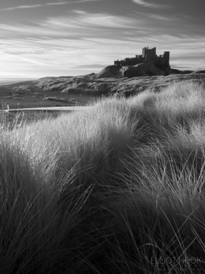 Bamburgh Castle - Infrared Hoya R72