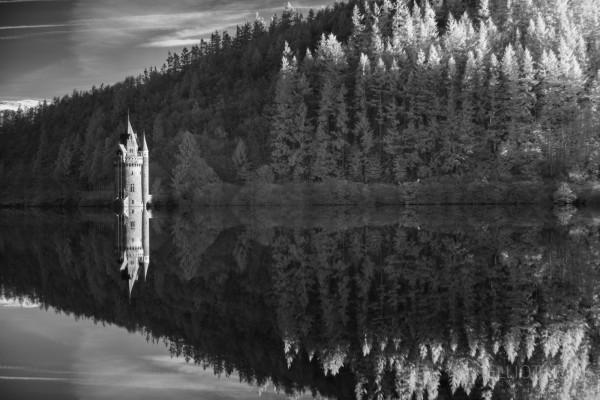 Infrared Processing Mono Lake Vyrnwy