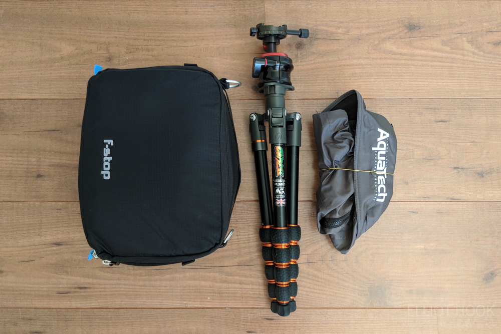 Laugavegur packing camera gear 2